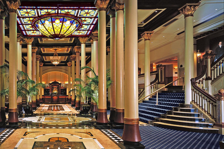 Driskill Hotel Lobby in Austin, Texas