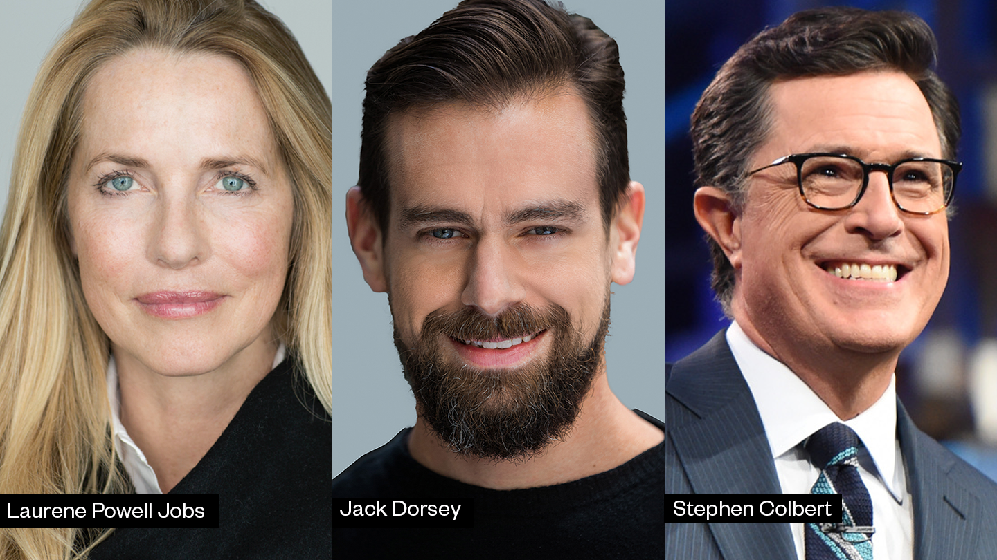 2020 SXSW speakers, Laurene Powell Jobs, Jack Dorsey, Stephen Colbert