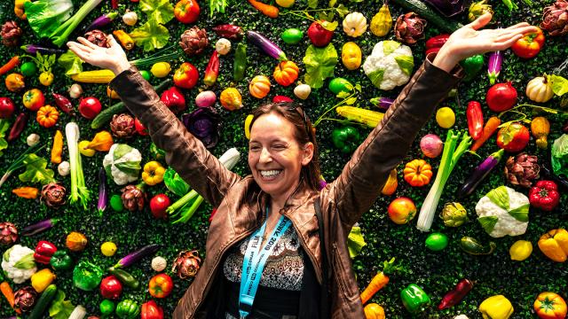 Caulipower at Wellness Expo – Photo by Ann Alva Wieding