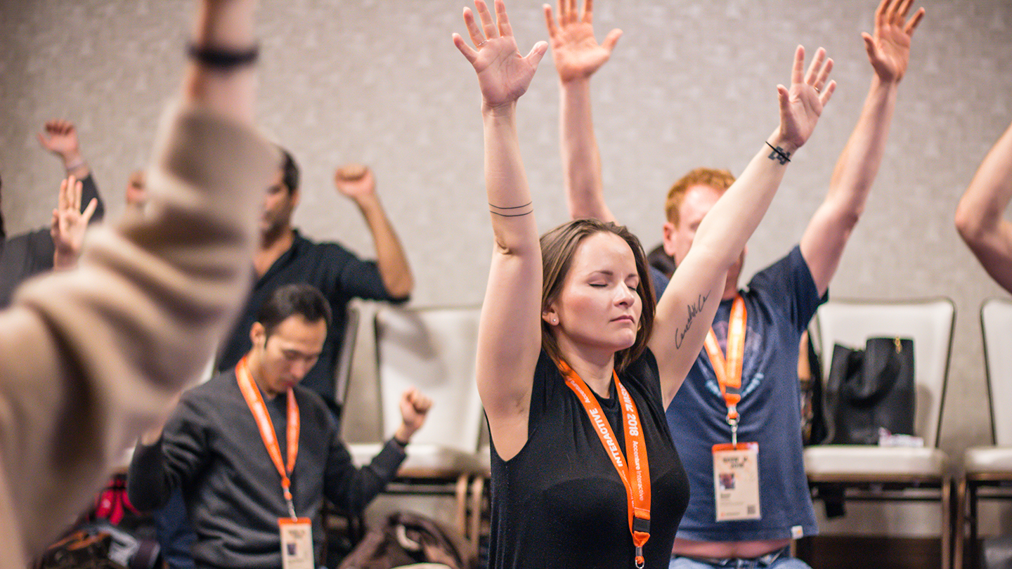 Active Meditation to Shift your Sh*t and Increase EQ - 2018 - Photo by Holly Jee