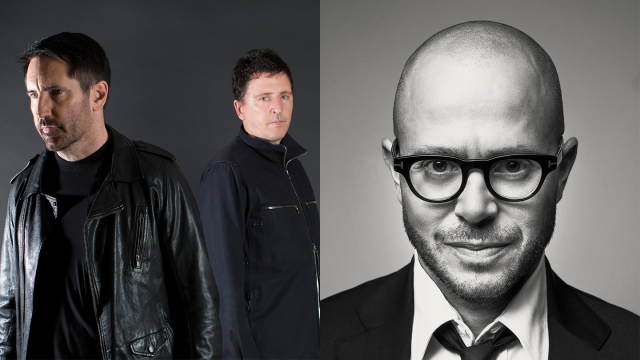 Trent Reznor, Atticus Ross, and Damon Lindelof, 2020 Convergence Keynotes - Photos courtesy of speakers