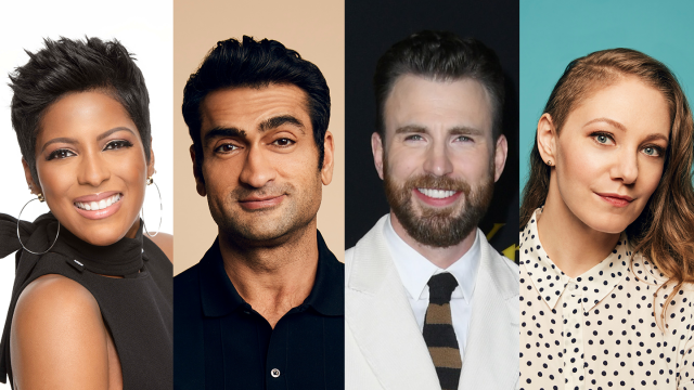 Featured Speakers Tamron Hall, Kumail Nanjiani, Chris Evans & Emily V. Gordon - 2020 - Photos courtesy of speakers