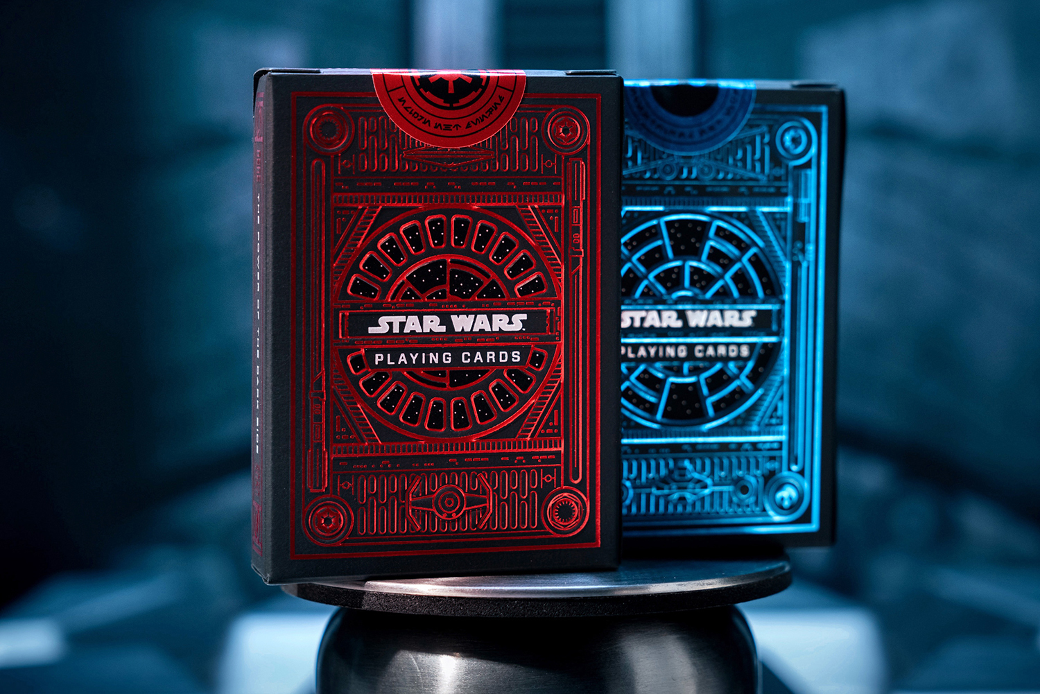 Star Wars playing cards art by Ty Mattson