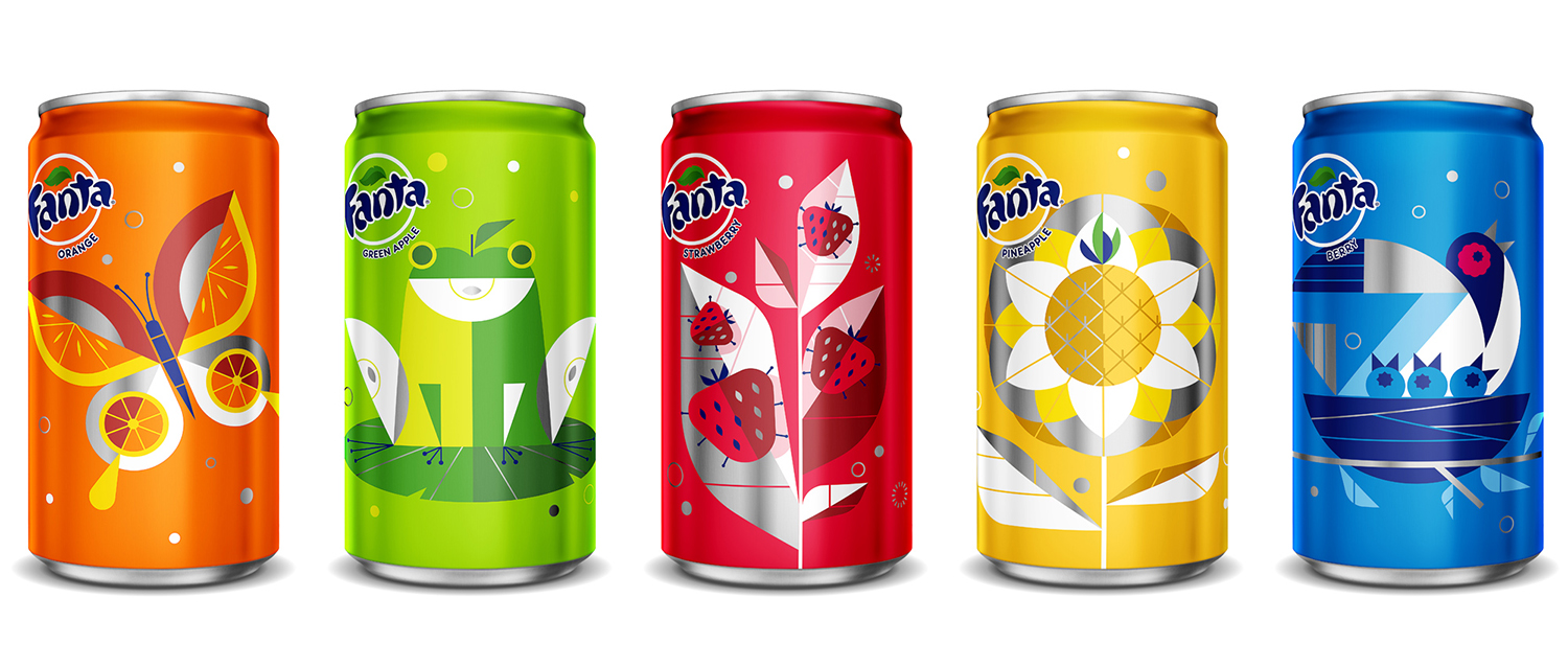 Fanta Cans by Ty Mattson