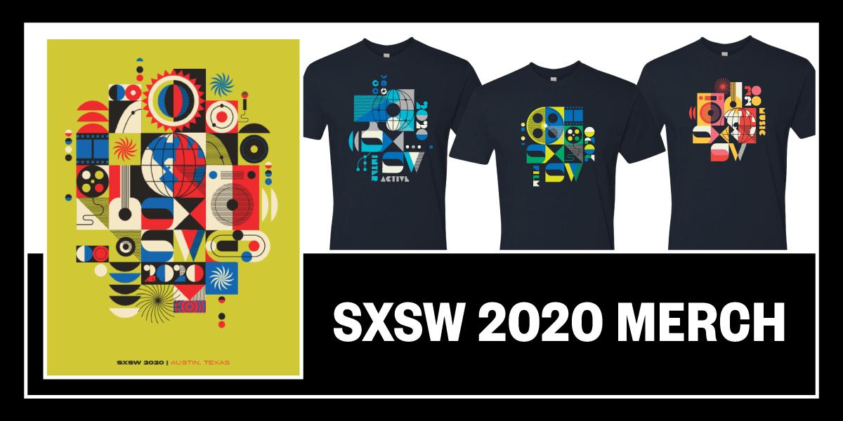 2020 SXSW Merch | Mattson Creative Collection