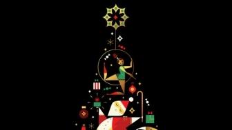 Neiman Marcus art by Ty Mattson