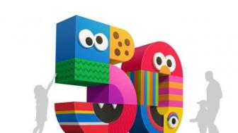 Sesame Street art by Ty Mattson