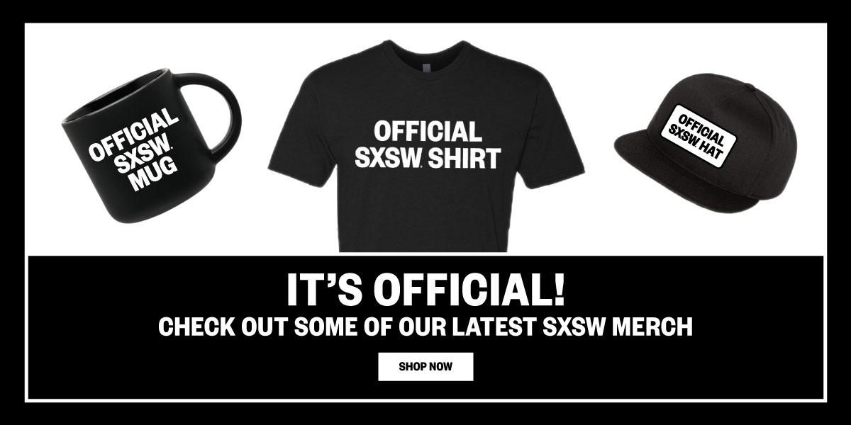 SXSW 2020 Merch