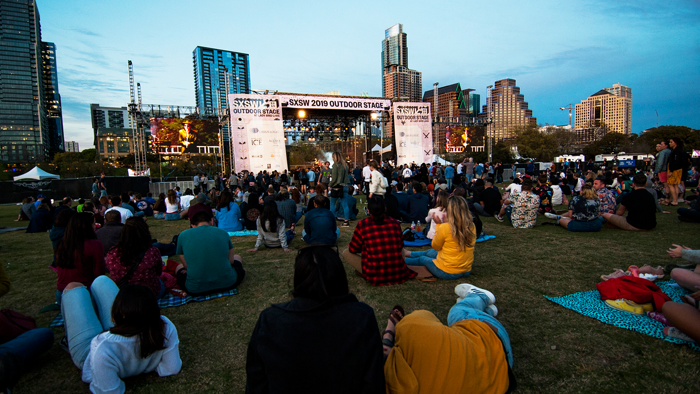 Outdoor Stage - Photo by John Gusky, KVUE