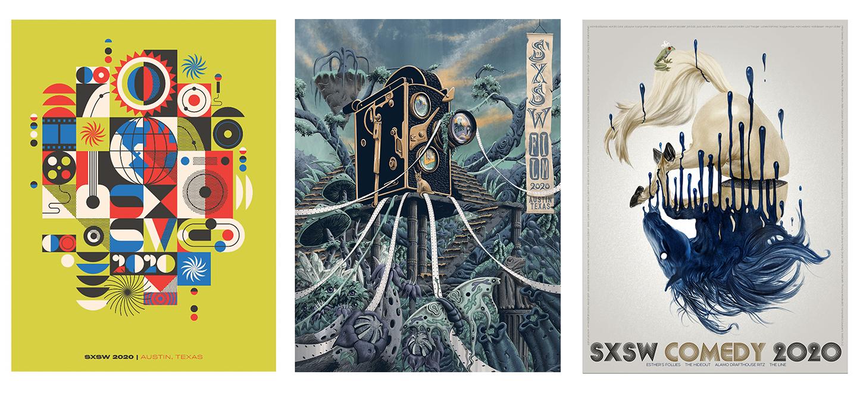 2020 Posters - SXSW Merch