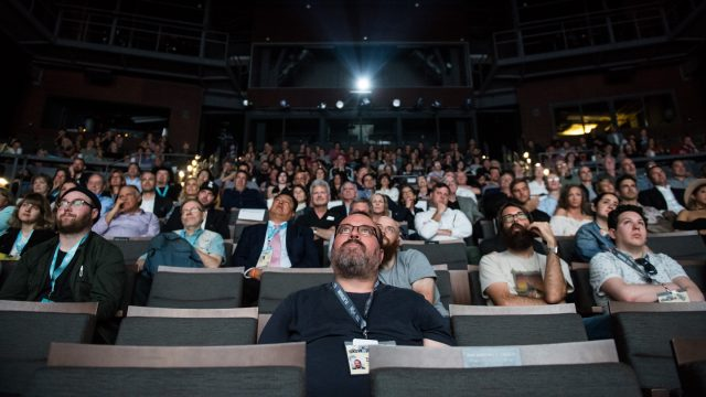 Film Festival audience at the ZACH Theater during SXSW 2018. Photo by Danny Matson.