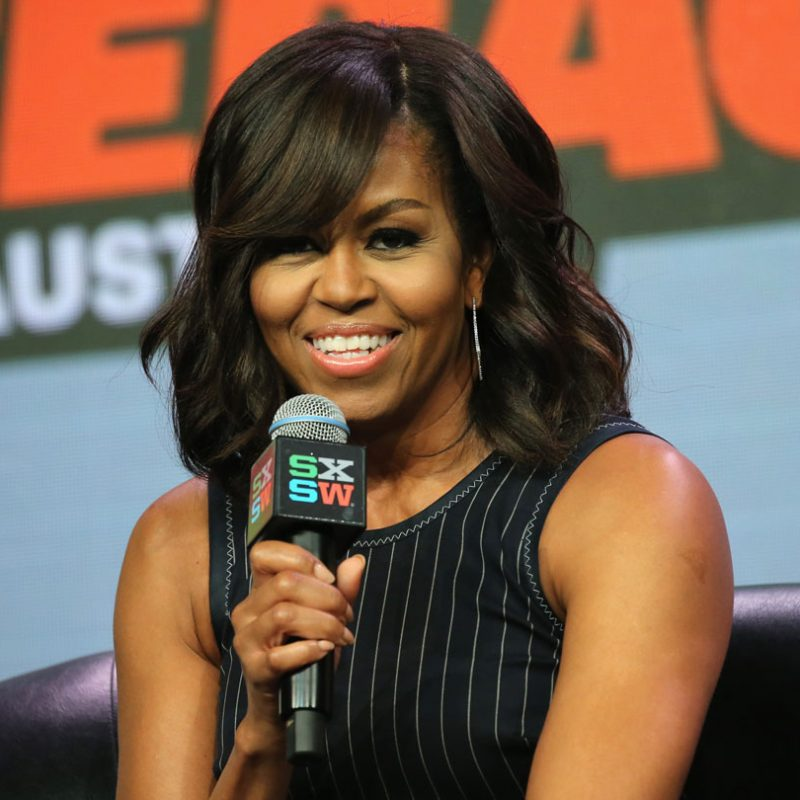 First Lady of the United States Michelle Obama speaks onstage at SXSW Keynote: Michelle Obama - SXSW 2016. Photo by Neilson Barnard/Getty Images for SXSW