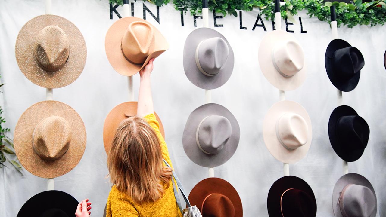 SXSW Marketplace 2019 Vendor, Kin the Label. Photo by Kimmi Cranes