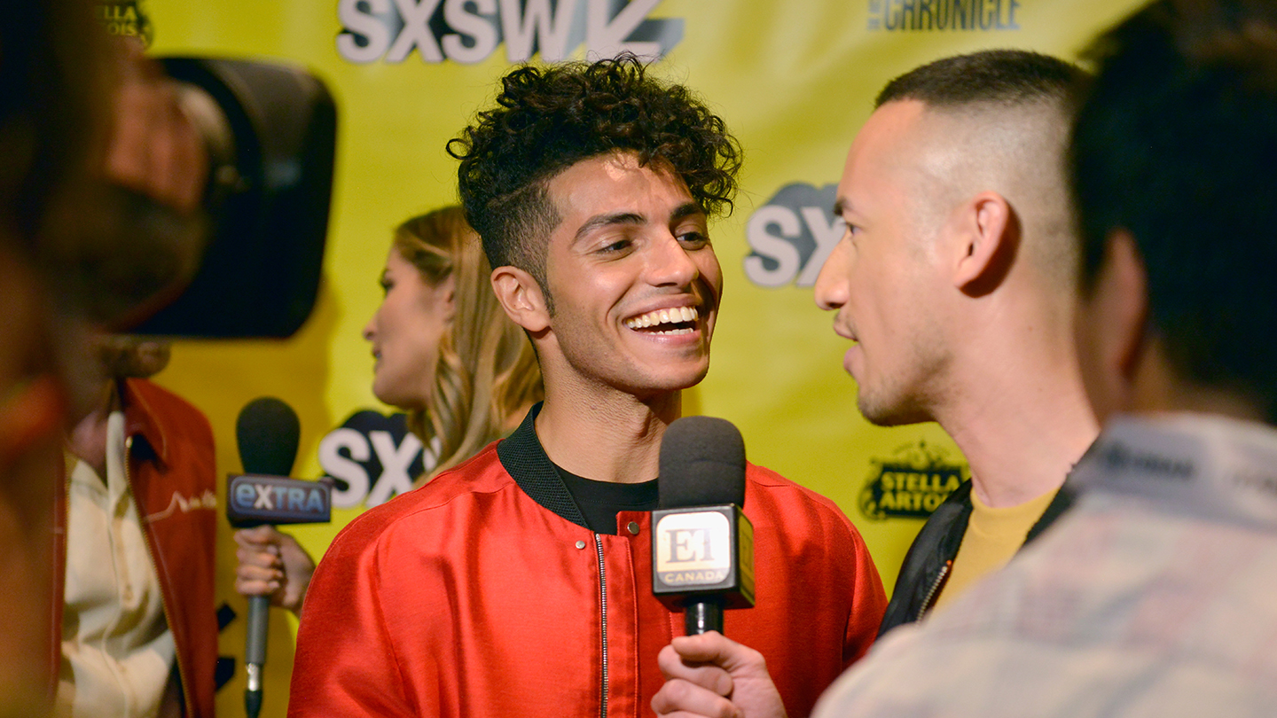 Mena Massoud - SXSW 2019. Photo by Nicola Gell/Getty Images for SXSW.