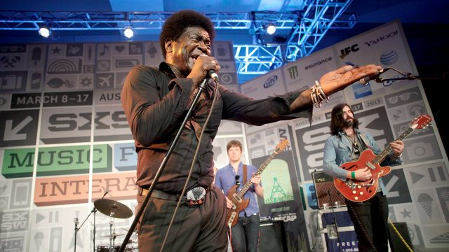 Charles Bradley performs onstage at Radio Day Stage at SXSW 2013. Photo by Dustin Finkelstein/Getty Images for SXSW.