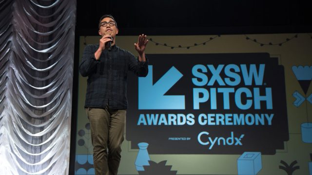 The eleventh annual SXSW Pitch Presented by Cyndx - Awards Ceremony - SXSW 2019. Photo by Camille Mayor