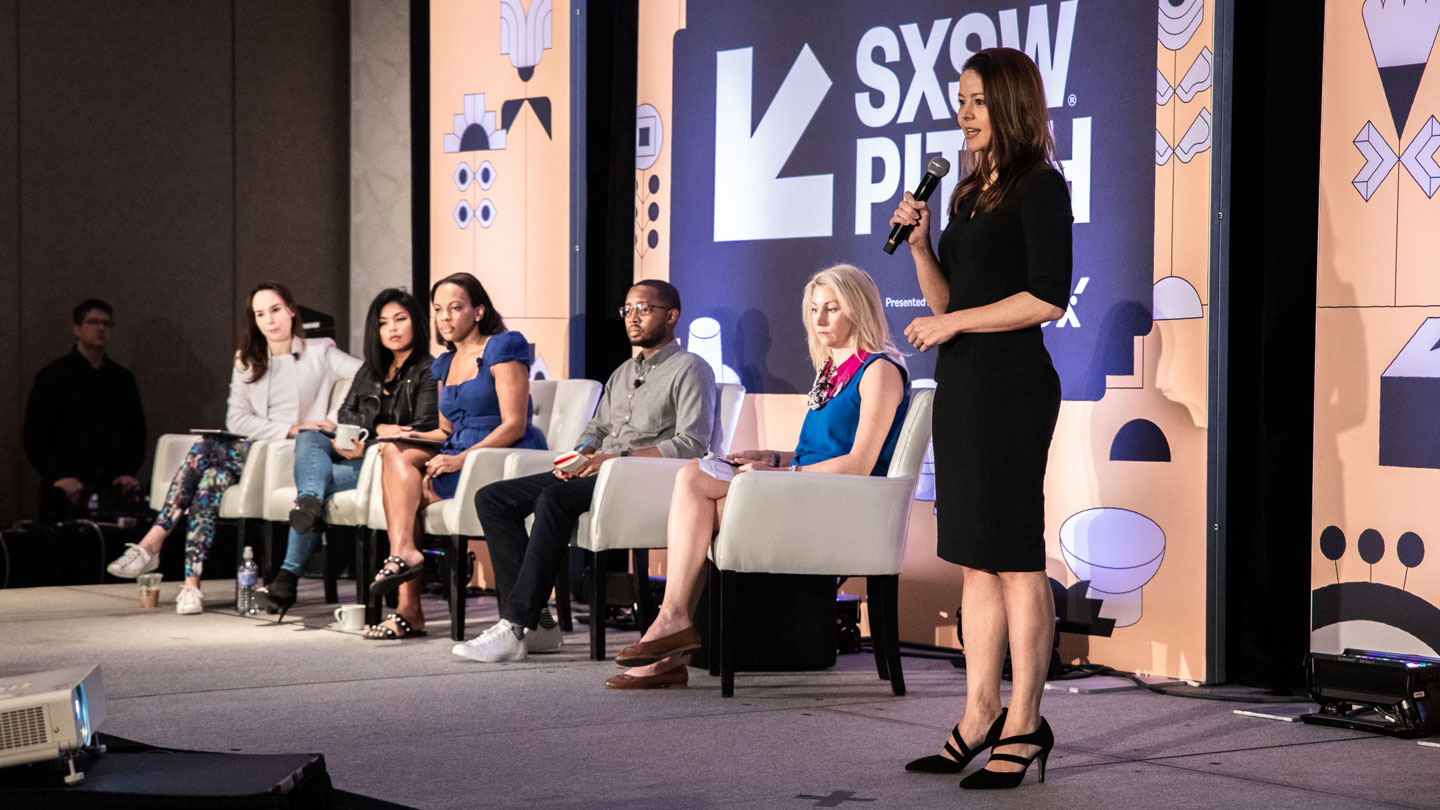 The eleventh annual SXSW Pitch Presented by Cyndx takes place in front of a live audience and panel of expert judges to discover advancements in various sectors of emerging technology - SXSW 2019. Photo by Joann Hetrick