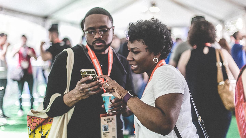 Registrants Lounge - SXSW 2018. Photo by Dylan Johnson.
