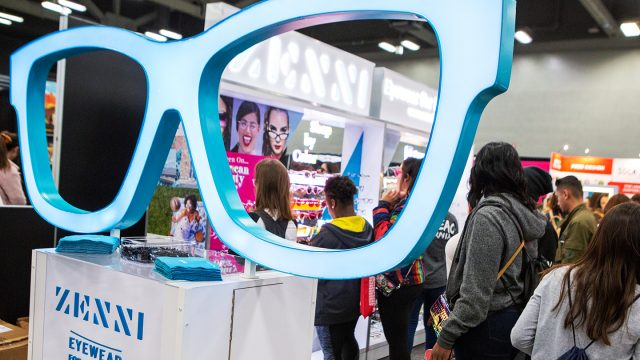 Zenni Eyewear at the SXSW Trade Show - 2019. Photo by Sarah Annie Navarrete