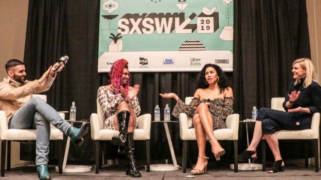 The Future Is Fluid Panel at SXSW 2019 - Photo by Sarah Craig