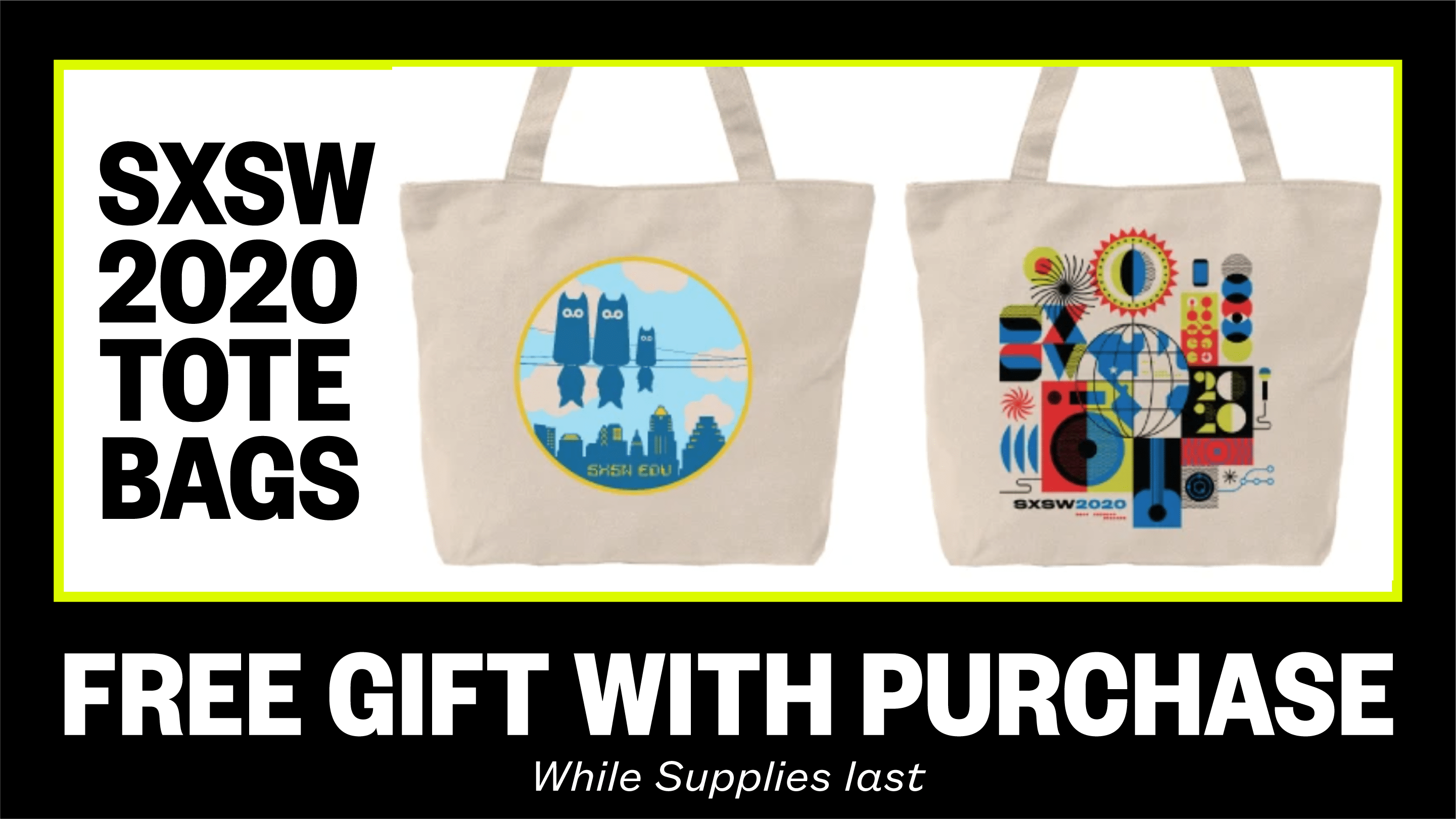 SXSW Merch   Tote Bag