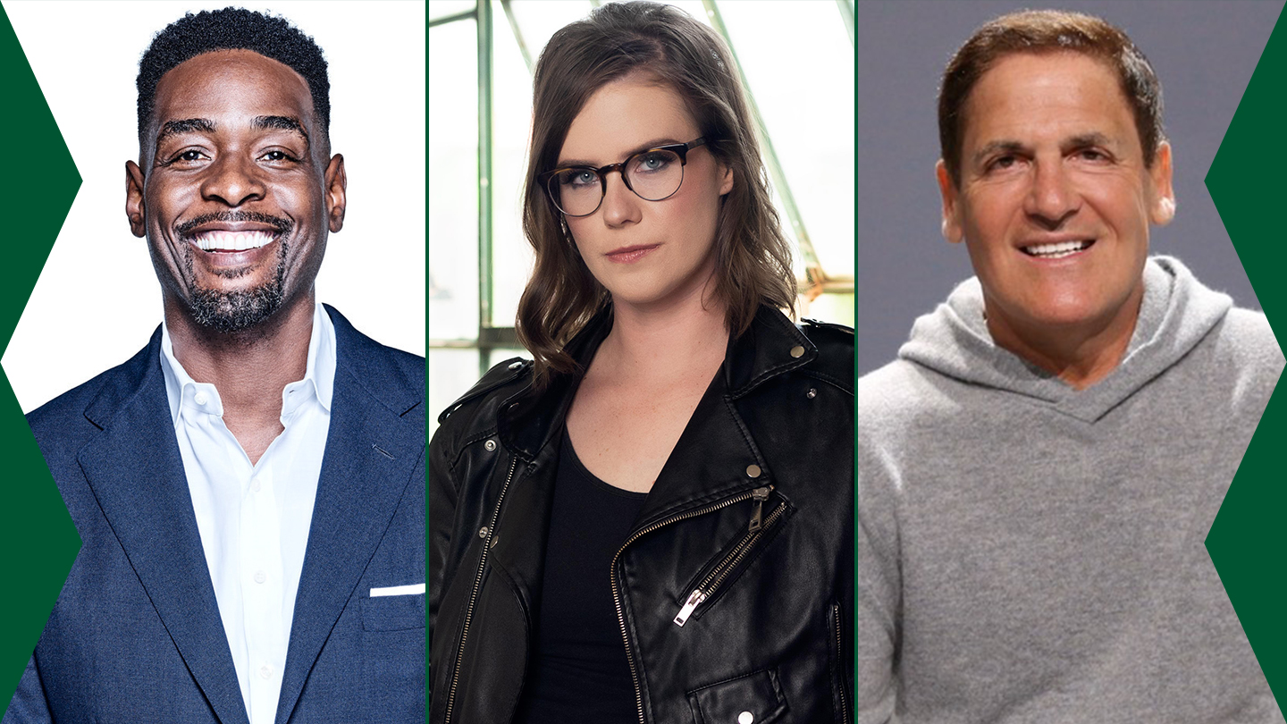 2021 Featured Speakers: Chris Webber, Erin Lee Carr, and Mark Cuban