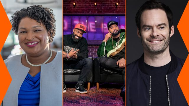 2021 SXSW Keynote Stacey Abrams and Featured Speakers Desus Nice and the Kid Mero, and Bill Hader