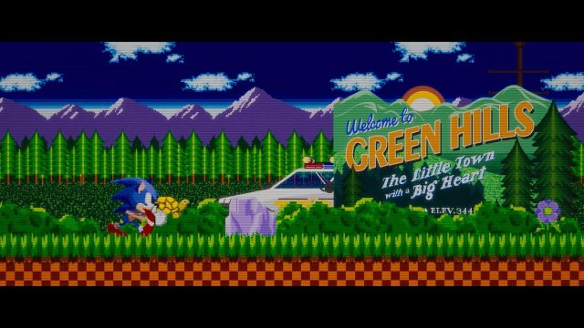 SXSW 2021 Film Sonic the Hedgehog Title Sequence
