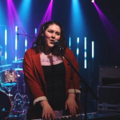 Beauty Sleep performs at the SXSW Music Festival showcase presented by the British Music Embassy with Output Belfast during SXSW Online on March 18, 2021.