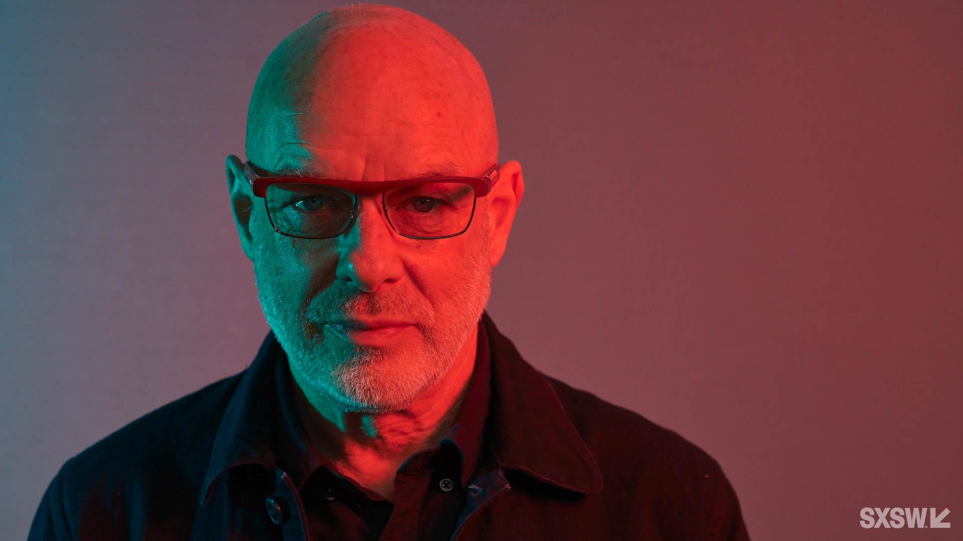 Brian Eno & Stewart Brand on Film, Music, and Creativity