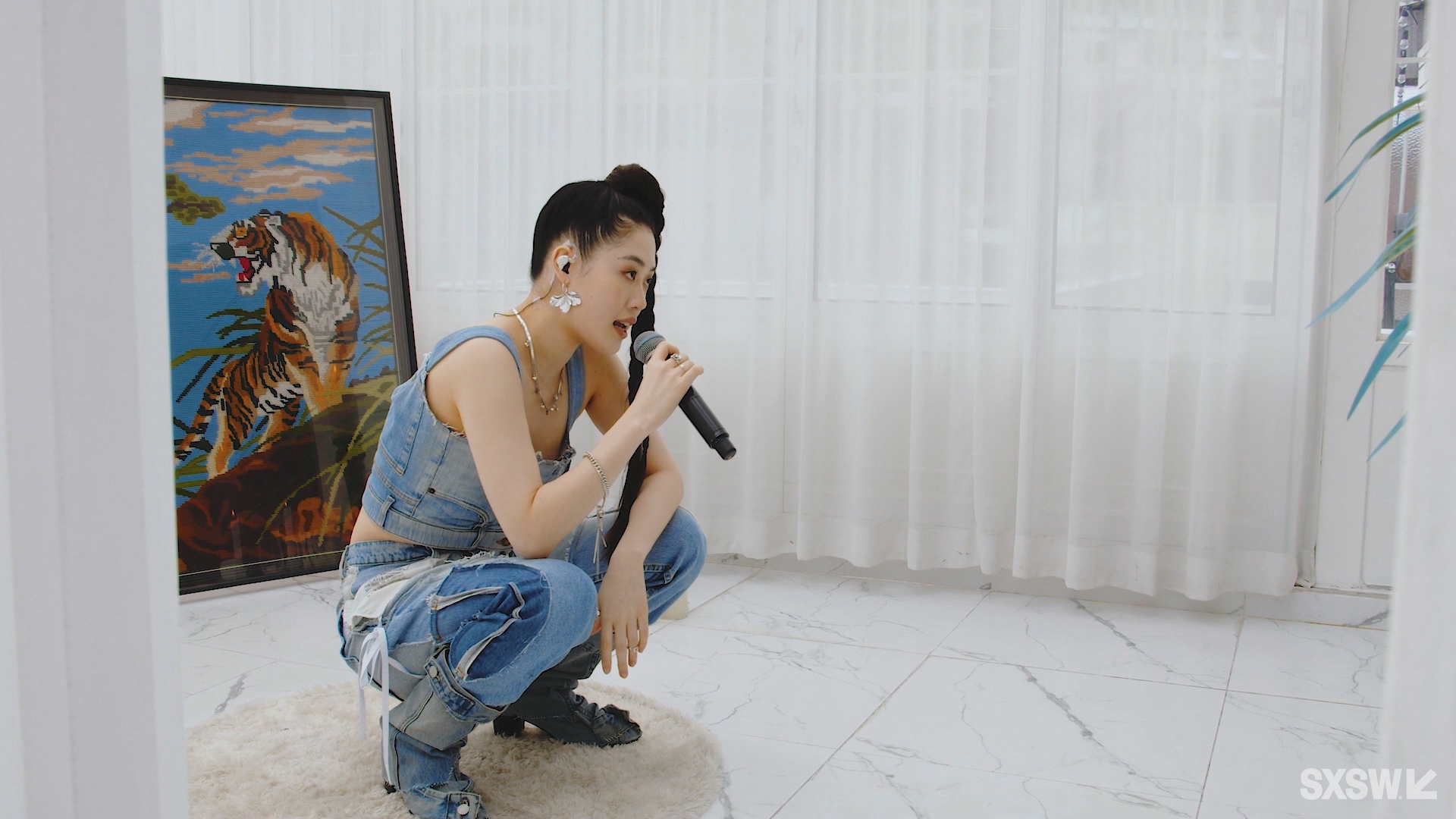 Devita performs at the SXSW Music Festival showcase presented by Beatbites presents AOMG during SXSW Online on March 20, 2021.
