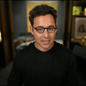 """Harley Finkelstein speaks during the session """"Entrepreneurship Equals Empowerment"""" during SXSW Online on March 20, 2021."""