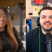 """Jack """"CouRage"""" Dunlop, Bridget Davidson speak at the featured session """"Evolving the Gaming Industry with CouRage & Loaded"""" during SXSW Online on March 18, 2021."""