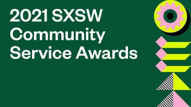 2021 SXSW Community Awards