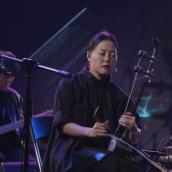 JAMBINAI performs at the SXSW Music Festival showcase presented by KoTPA (Korean Traditional Performing Arts Foundation) during SXSW Online on March 16, 2021.