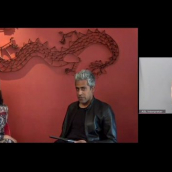From left: SXSW Keynote Priya Parker speaks with Anand Giridharadas during SXSW Online on March 20, 2021.