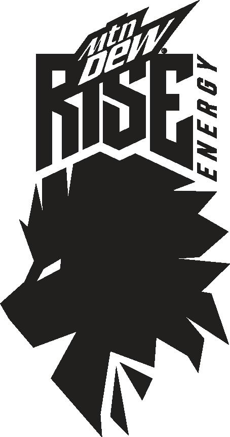 MTN DEW Rise Energy sponsor logo