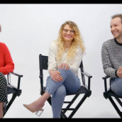 """Whitney Call, Mallory Everton, and Stephen Meek speak during """"On the Road(trip) to 'Recovery': Filmmakers Mallory Everton, Whitney Call and Stephen Meek Talk their Feature Debut in the Midst of a Pandemic"""" at SXSW Online on March 19, 2021."""