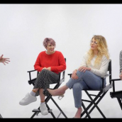 """Julia Jolley, Whitney Call, Mallory Everton, and Stephen Meek speak during """"On the Road(trip) to 'Recovery': Filmmakers Mallory Everton, Whitney Call and Stephen Meek Talk their Feature Debut in the Midst of a Pandemic"""" at SXSW Online on March 19, 2021."""