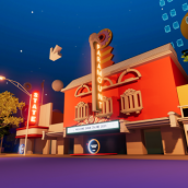 The Paramount and State Theaters in SXSW Online XR