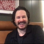 Edgar Wright speaks at the SXSW Film Festival Premiere of <em>The Sparks Brothers</em> during SXSW Online on March 18, 2021.