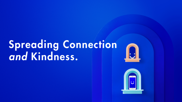 Visible Spreading Connection and Kindness