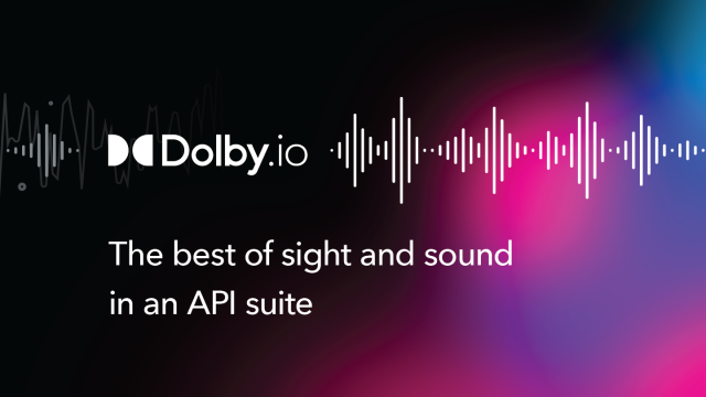 Make Your Audio Content Sound Its Best With Dolby.io