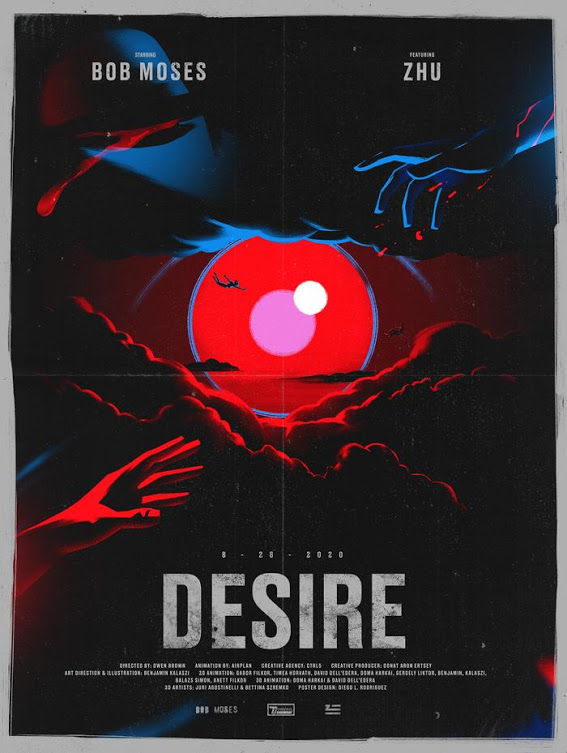 Bob Moses Featuring ZHU - 'Desire' directed by Owen Brown
