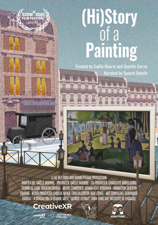 (Hi)story of a Painting directed by Gaëlle Mourre and Quentin Darras