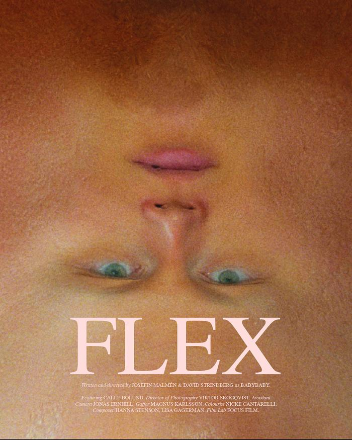 Flex directed by Josefin Malmén and David Strindberg
