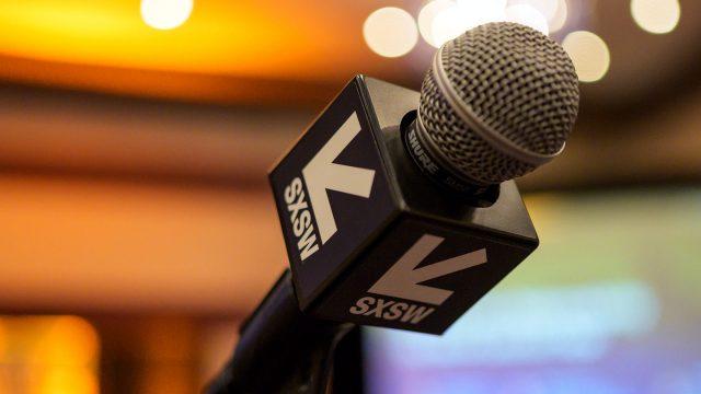 SXSW Microphone – Photo by Tico Mendoza