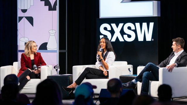 Featured Session: Changing the Narrative with Zoe Saldana – SXSW 2019 – Photo by John Feinberg