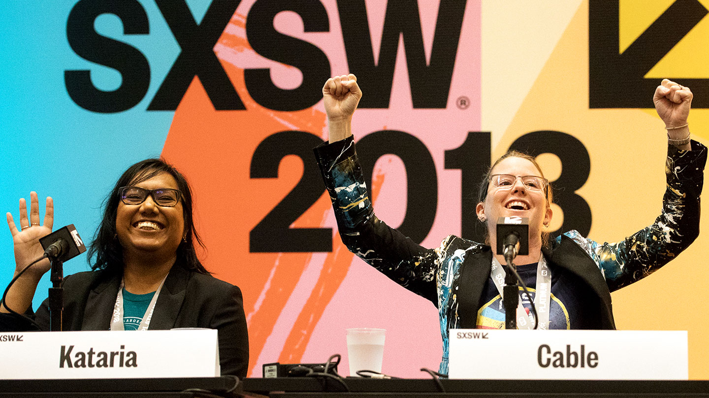 Tiffany Kataria and Morgan Cable – SXSW 2018 – Photo by Michael Caufield
