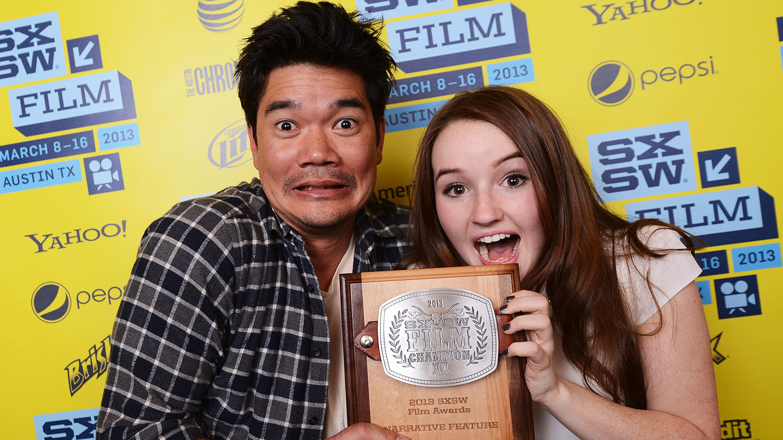 Destin Cretton and Kaitlyn Dever for Short Term 12 World Premiere – 2013 – Photo by Michael Buckner